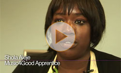 Music4Good Apprenticeships Scheme